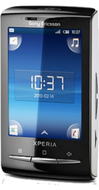 Sony Ericsson Xperia X10 Mini White back
