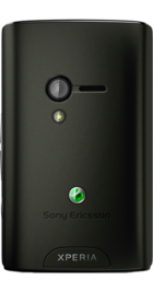 Sony Ericsson Xperia X10 Mini back