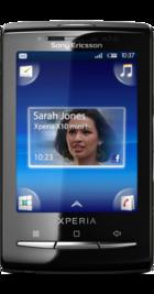 Sony Ericsson Xperia X10 Mini front
