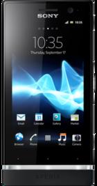 Sony Xperia U front