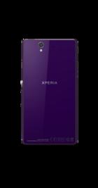 Sony Xperia Z Purple side