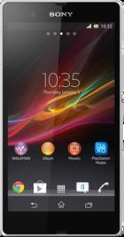 Sony Xperia Z White front