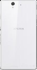 Sony Xperia Z White side