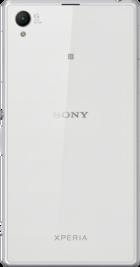 Sony Xperia Z1 White back