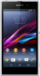 Sony Xperia Z1 White front