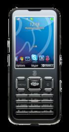 Three Skypephone Black front