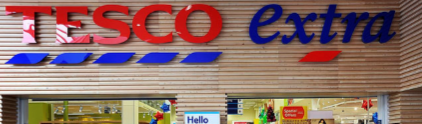 Tesco Clubcard points  through a creditcard