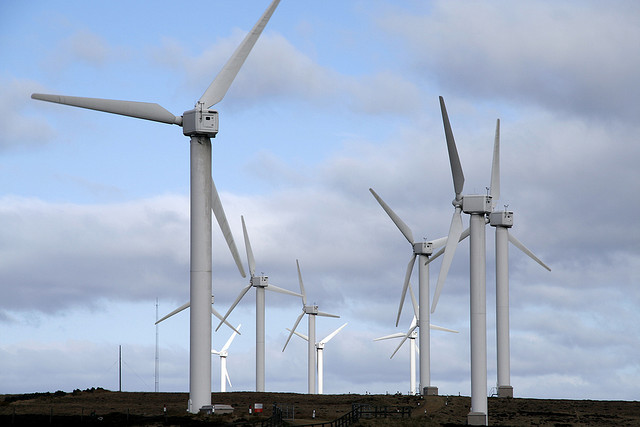Wind turbines on the increase