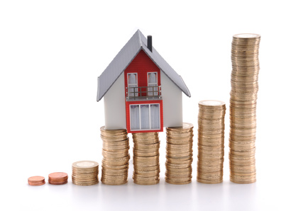 House on coins - households paying extra £25 a year