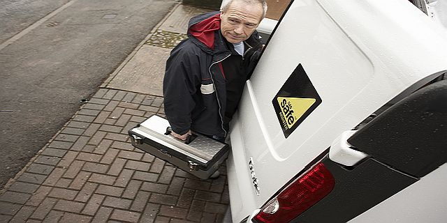 A gas safety inspector