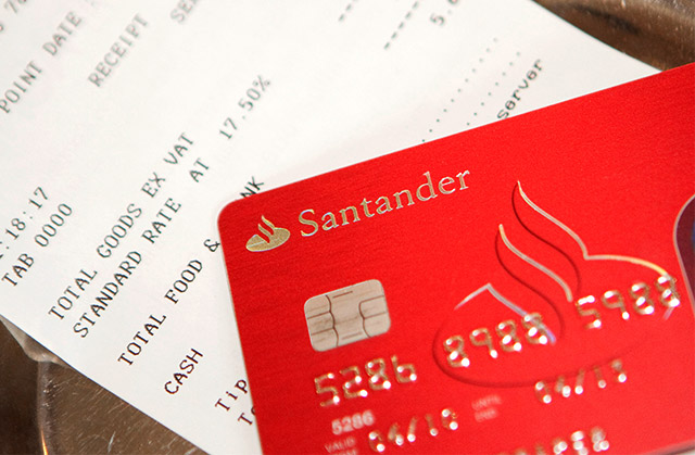 Three new Santander credit cards are now available, including an 18 month 0% purchase card