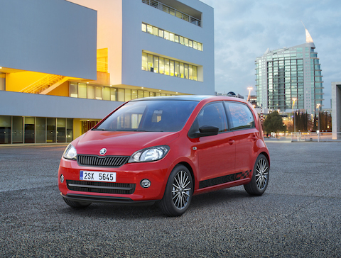 Cars in insurance group 1 - Top 10 - SKODA Citigo