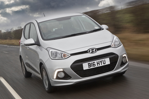Cheap car insurance - Top 10  - Hyundai i10