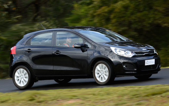 Car insurance groups - Top 10  - Kia Rio Car