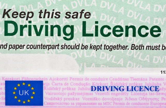 paperless driving licence