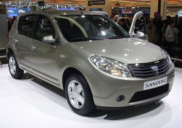Cheapest car - Top 10  - Dacia Sandero