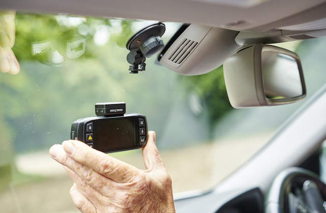 Installing a dash cam