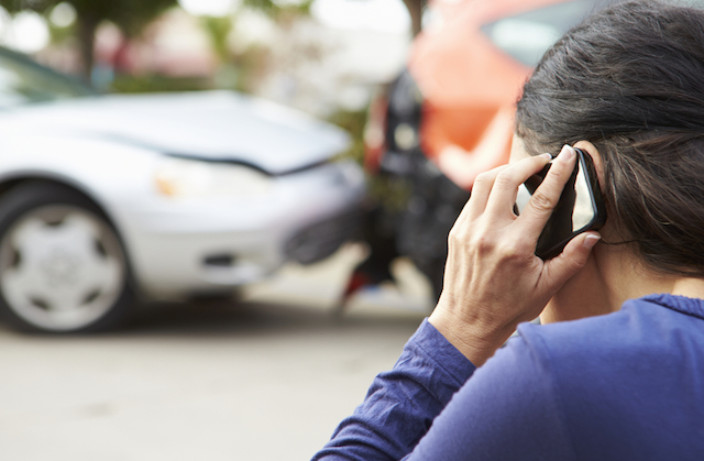 Calling insurer after an accident