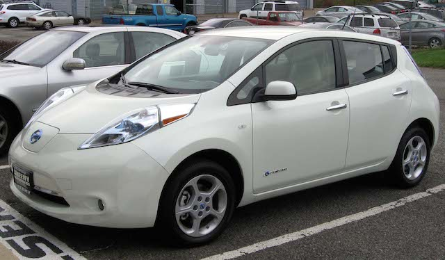 Nissan Leaf one of the best electric cars