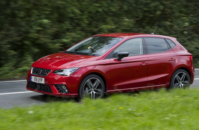 Cheapest car insurance - Top 10 - SEAT Ibiza
