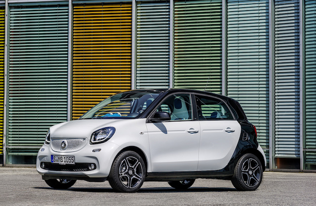 Cheapest car - Top 10 - Smart Forfour