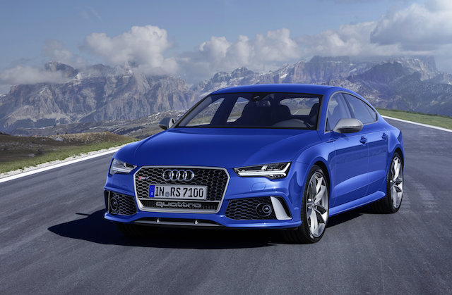 most expensive cars to insure - Audi RS 7 Sportback performance