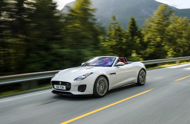 most expensive cars to insure - Jaguar F Type Convertible