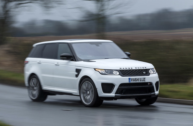 Most expensive cars to insure - Land Rover Range Rover Sport SVR