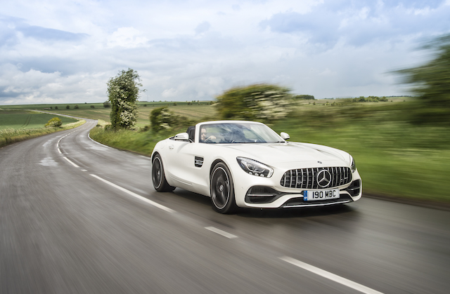 most expensive cars to insure - Mercedes AMG GT Roadster