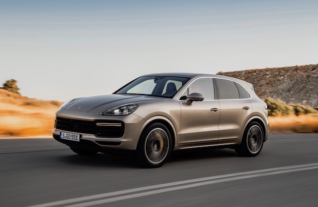 most expensive cars to insure - Porsche Cayenne Turbo