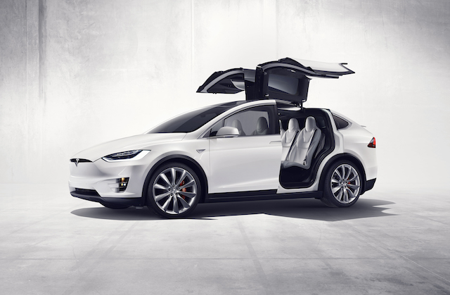 most expensive cars to insure - Tesla Model X SUV