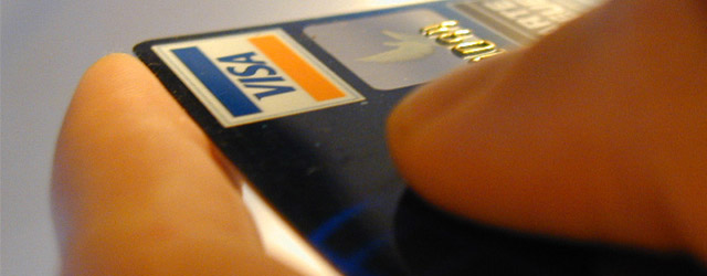 close up photo of a prepaid debit card