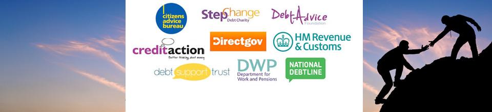 Debt help advice and charities